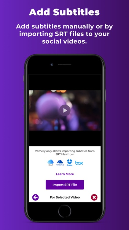 Veme.ly: Captions to Videos screenshot-5