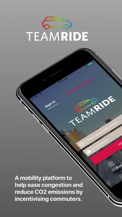 TeamRide Screenshot