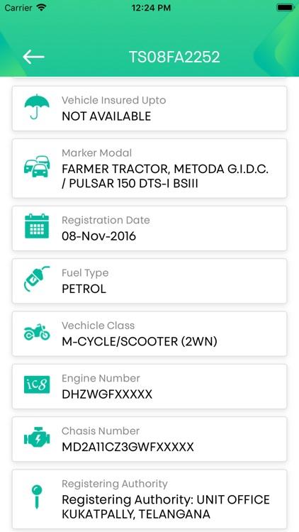 Vahan Master -RTO Vehicle Info screenshot-3