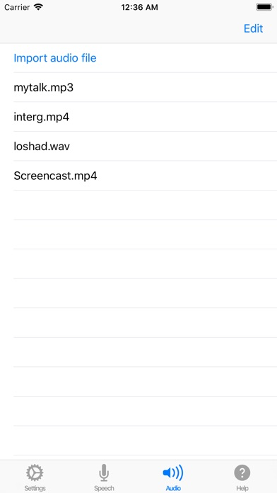 Voice Notebook - audio to text screenshot four