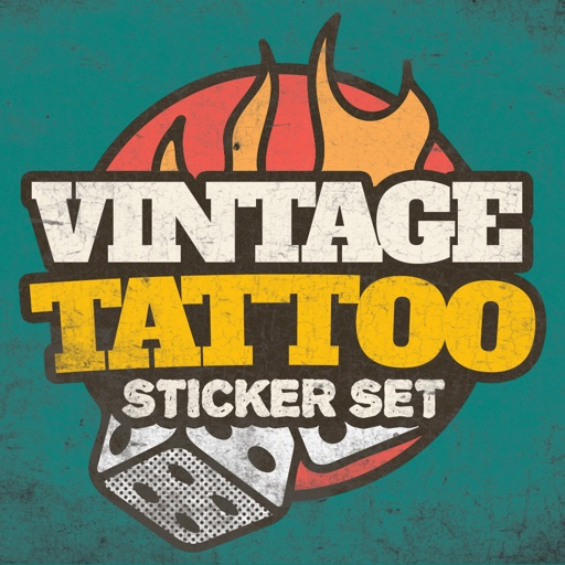 Vintage Tattoos Stickerpack