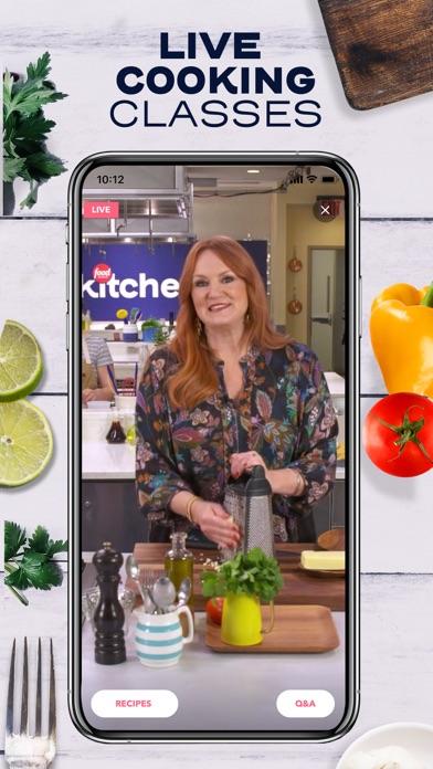 Food Network Kitchen review screenshots