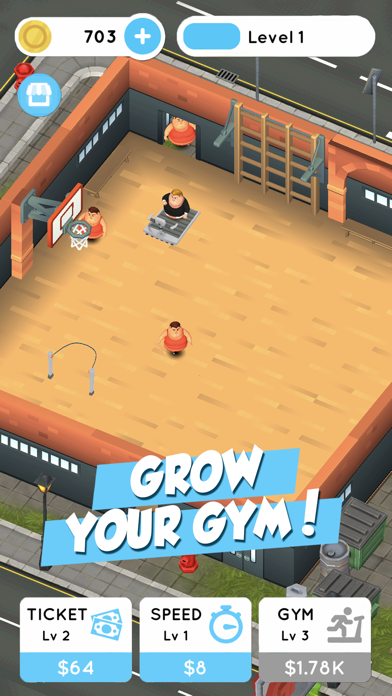 Fit the Fat: Idle Gym screenshot 3