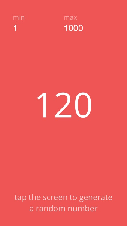 A Random Number Generator screenshot-3