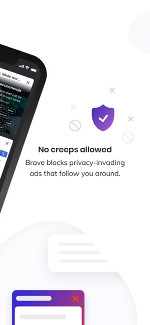 ‎Brave Browser: Internet privat Screenshot