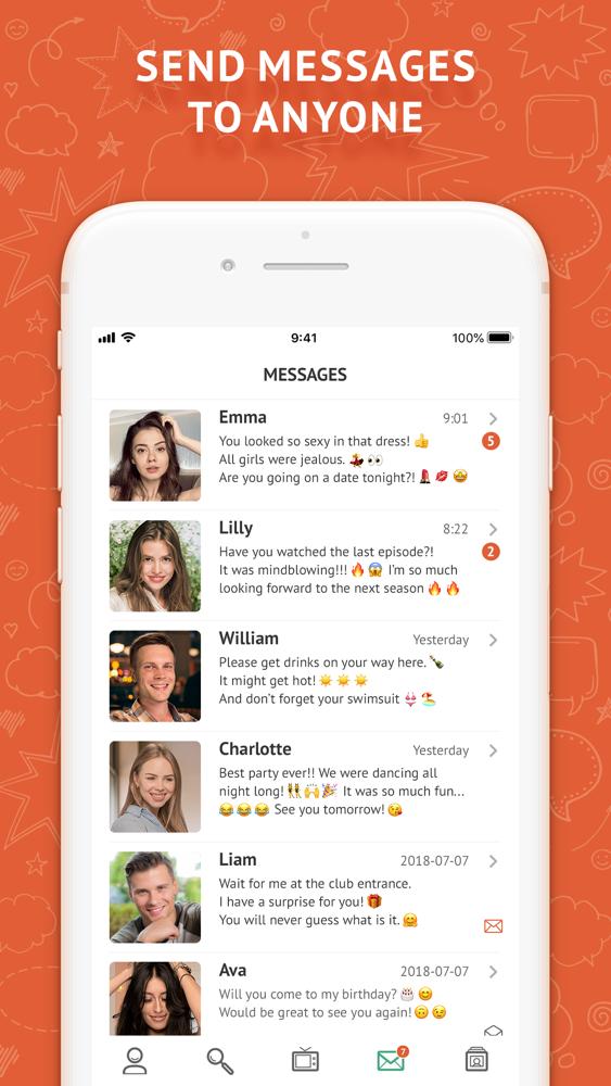Hookup chat letöltés hogy randevúz egy nőt