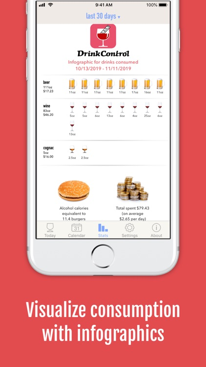 DrinkControl: Alcohol Tracker screenshot-8