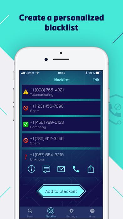 Numbo: Spam Call & SMS Blocker Screenshot
