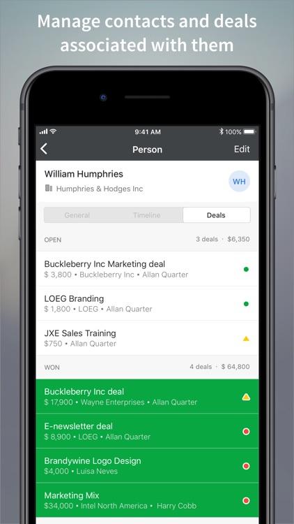Pipedrive – Sales CRM screenshot-5