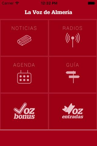 La Voz de Almería App - náhled