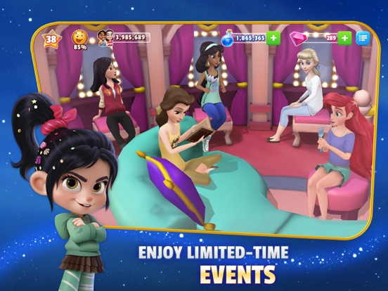 iPad Image of Disney Magic Kingdoms