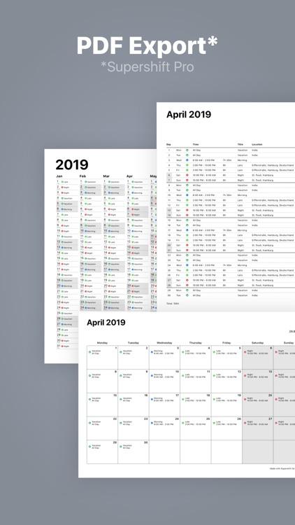 Supershift - Shift Calendar screenshot-5