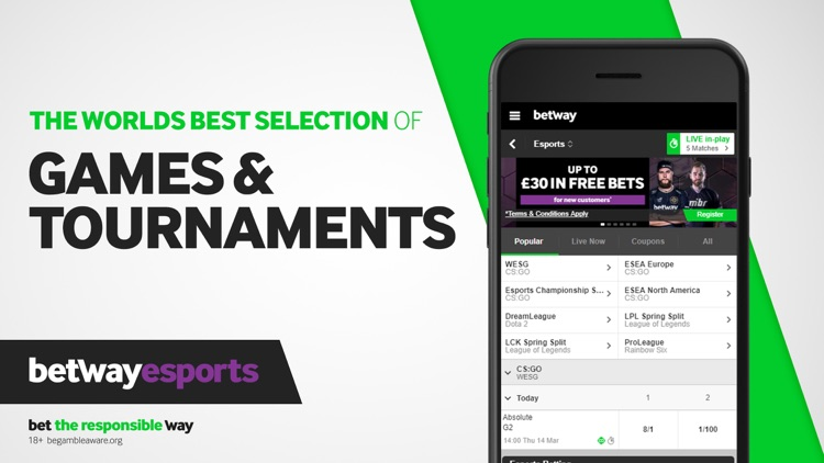 Betway - Live Sports Betting screenshot-4