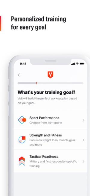 Volt: #1 AI Workout App on the App Store