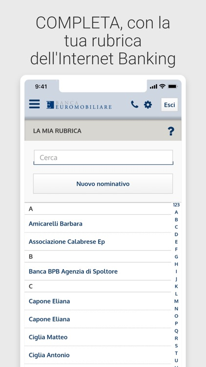 Banca Euromobiliare Mobile screenshot-5