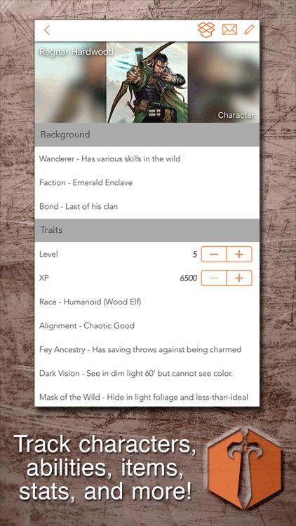 Sheet Yourself: RPG Sheets screenshot-4
