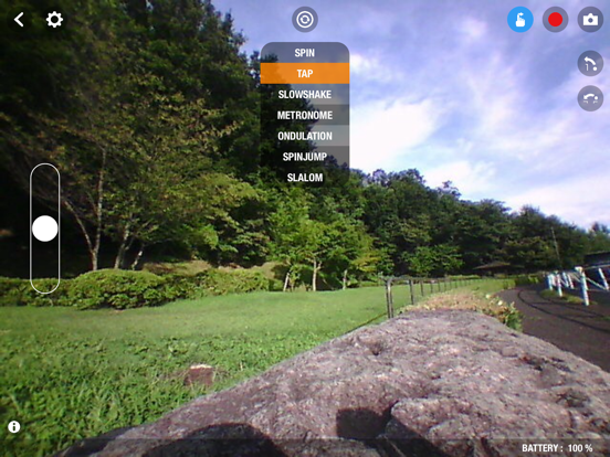Scroll Controller Jumping Sumo screenshot 13