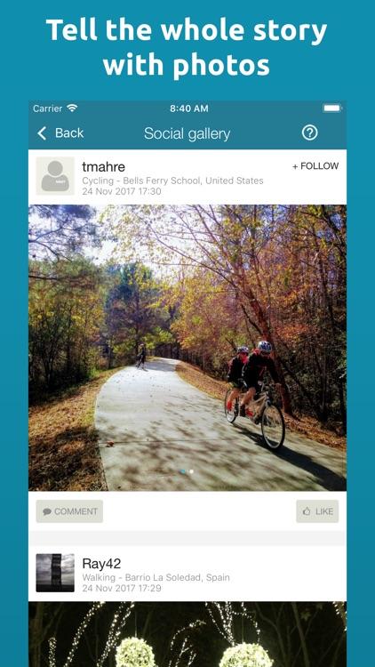 Map My Tracks: walking pro screenshot-3