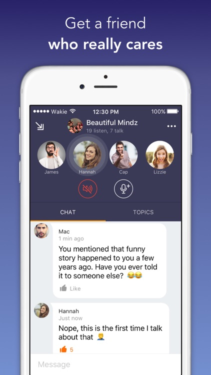 Wakie Chat – Talk to People screenshot-3