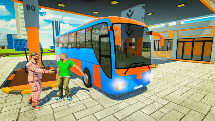 Simple City Coach Bus Driving screenshot-4