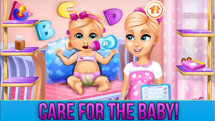 New Baby Sister Makeover Game screenshot-3