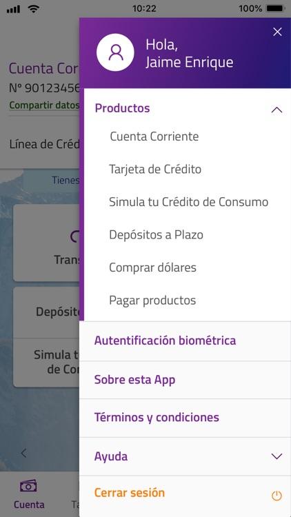 Banco Security screenshot-3