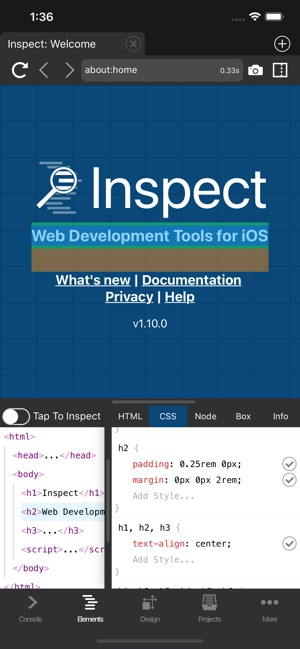 ‎Inspect Browser
