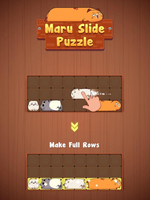 Maru Slide - Block Puzzle на iPad