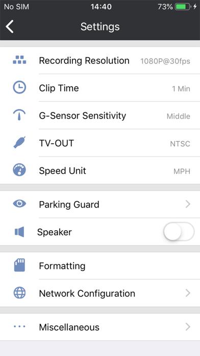 Snooper DVR-ProCaptura de pantalla de3