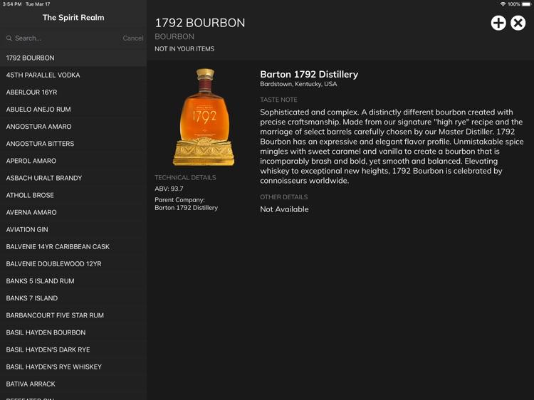 Bartender's Binder screenshot-7