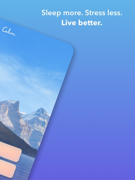 Calm: Meditate & relax with guided mindfulness meditation for stress reduction screenshot