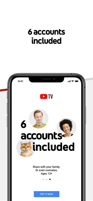 6db5c96bfd YouTube TV on the App Store