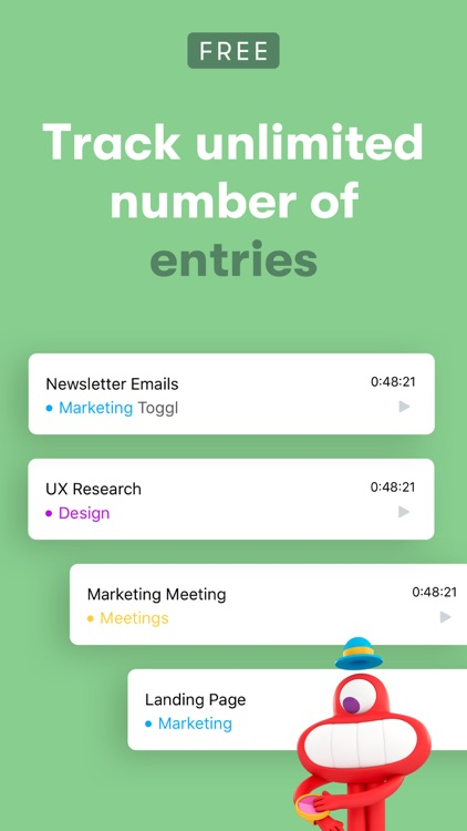 Toggl: Time Tracker for Work screenshot-8