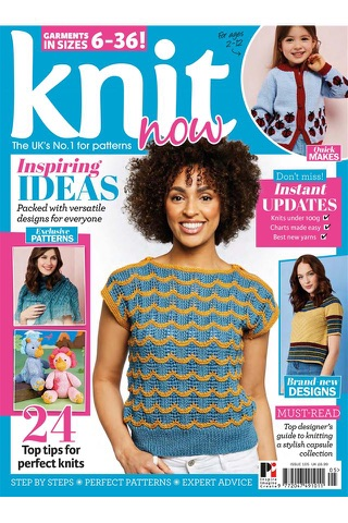 Knit Now Magazine - náhled