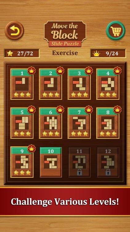Move the Block : Slide Puzzle screenshot-3