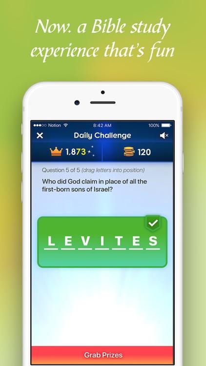 BibleMania - Christian Trivia screenshot-3