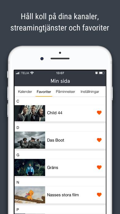 tv.nu - Guide till TV & Play screenshot three