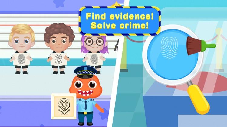 Kids Police Car Driving Game screenshot-3