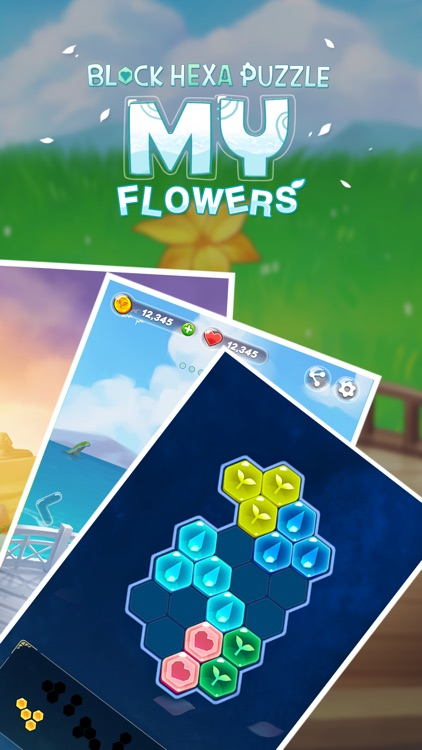 Block Hexa Puzzle : My Flower
