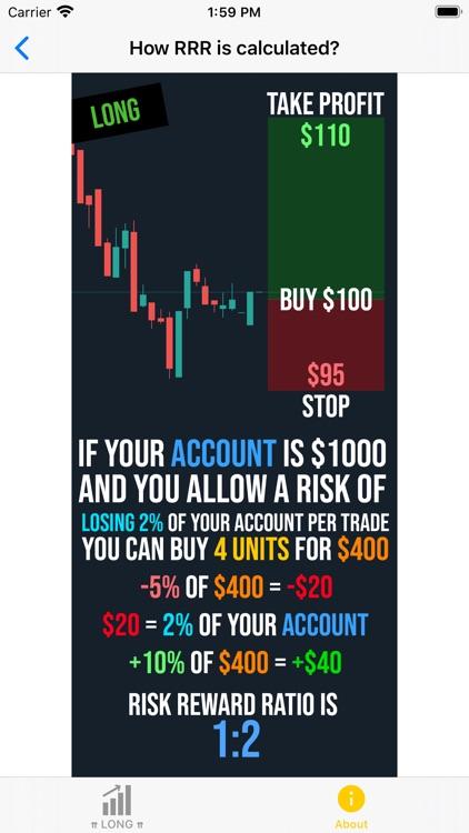Risk Reward Ratio Calculator screenshot-3