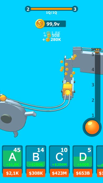 Balls Rollerz Idle 3D Puzzle screenshot 2