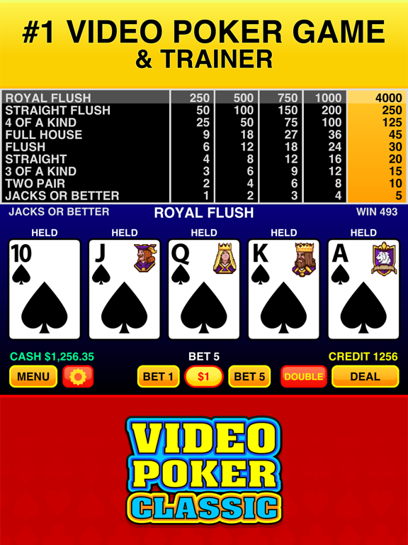 Screenshot #6 pour Video Poker Classic - 39 Games
