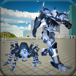 Superhero Spider Robot Game