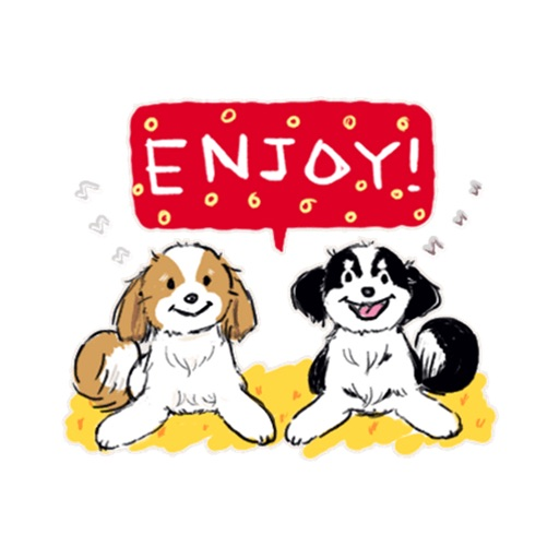 Lucy and Pepper Dog Friends icon
