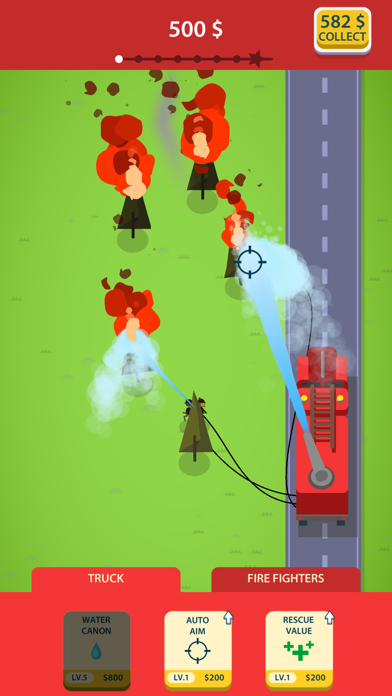 Idle Firetruck screenshot 1
