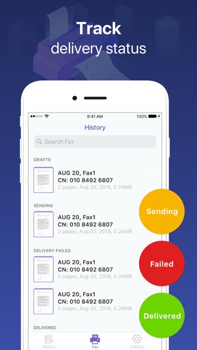 Send Fax App-Fax From Phone Screenshot