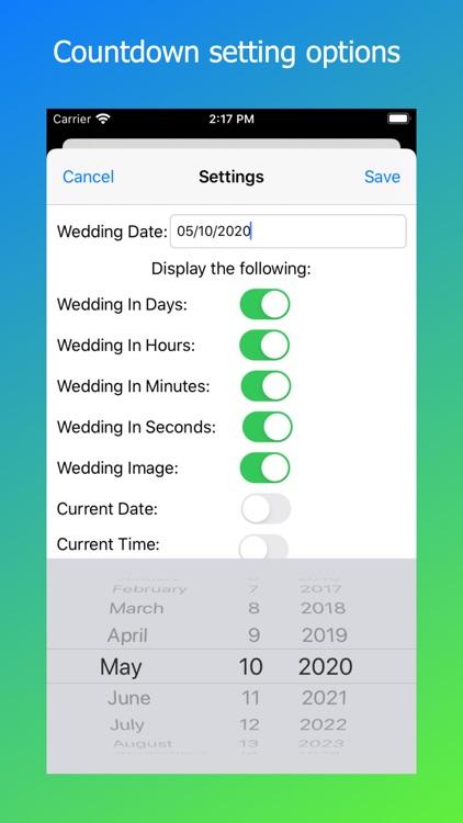 Wedding Countdown 3-2-1 screenshot-3