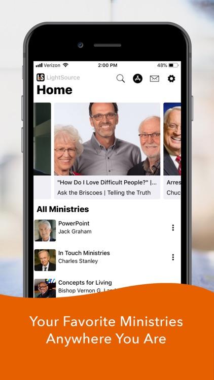 LightSource: Christian Sermons screenshot-0