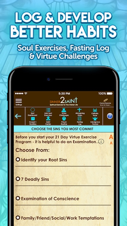 Sinner2Saint Best Catholic App