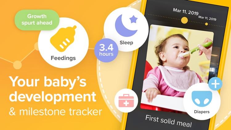 Glow Baby: Baby & Toddler Log